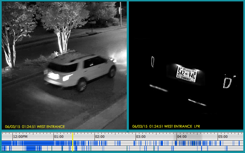License Plate Recognition Camera